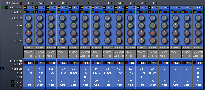 groove machine synth presets